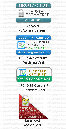 PCI Compliant Site Seals